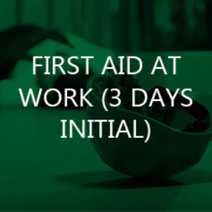 First Aid at Work (3 Days Initial)