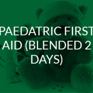 Paediatric First Aid (blended online/in-person)